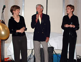 (L-R) Professors Liz Magill, G. Edward White, and Anne Coughlin.