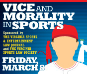 Vice and Morality in Sports