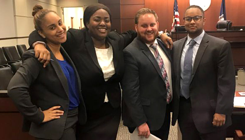 BLSA mock trial team